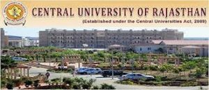 Central University of Rajasthan Recruitment